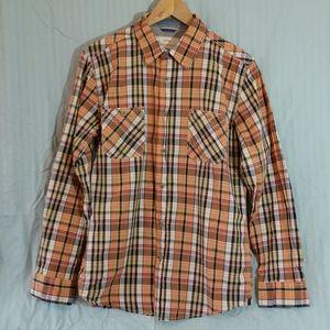 Plaid BD Cotton Shirt LS